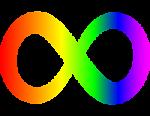 Symbol of infinity autism RAN