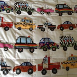 cars weighted blanket